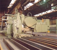 sawing and drilling line